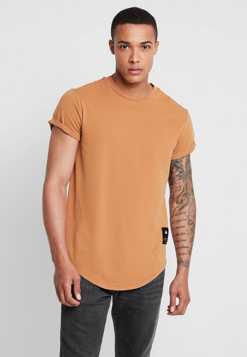 G-Star - SWANDO RELAXED R T S/S - Basic T-shirt - aged almond