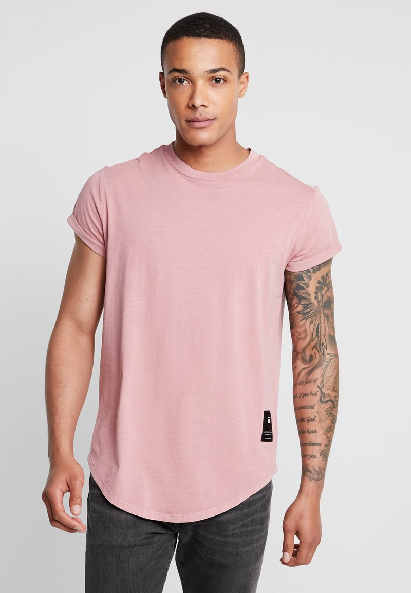 G-Star - SWANDO RELAXED R T S/S - T-shirts - dark tea rose