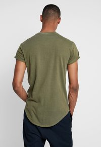 G-Star - SWANDO RELAXED R T S/S - Jednoduché triko - sage - 2