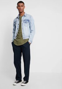 G-Star - SWANDO RELAXED R T S/S - Jednoduché triko - sage - 1