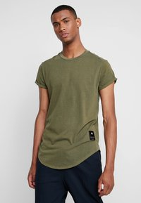 G-Star - SWANDO RELAXED R T S/S - Jednoduché triko - sage - 0