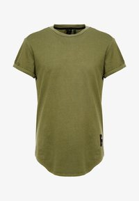 G-Star - SWANDO RELAXED R T S/S - Jednoduché triko - sage - 4