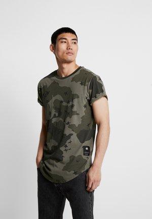 SWANDO RELAXED RT S/S - T-shirt print - dark shamrock