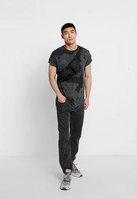 G-Star - SWANDO RELAXED RT S/S - T-shirt print - black - 1