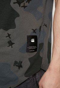 G-Star - SWANDO RELAXED RT S/S - T-shirt print - black - 5