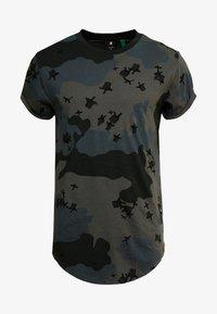 G-Star - SWANDO RELAXED RT S/S - T-shirt print - black - 4