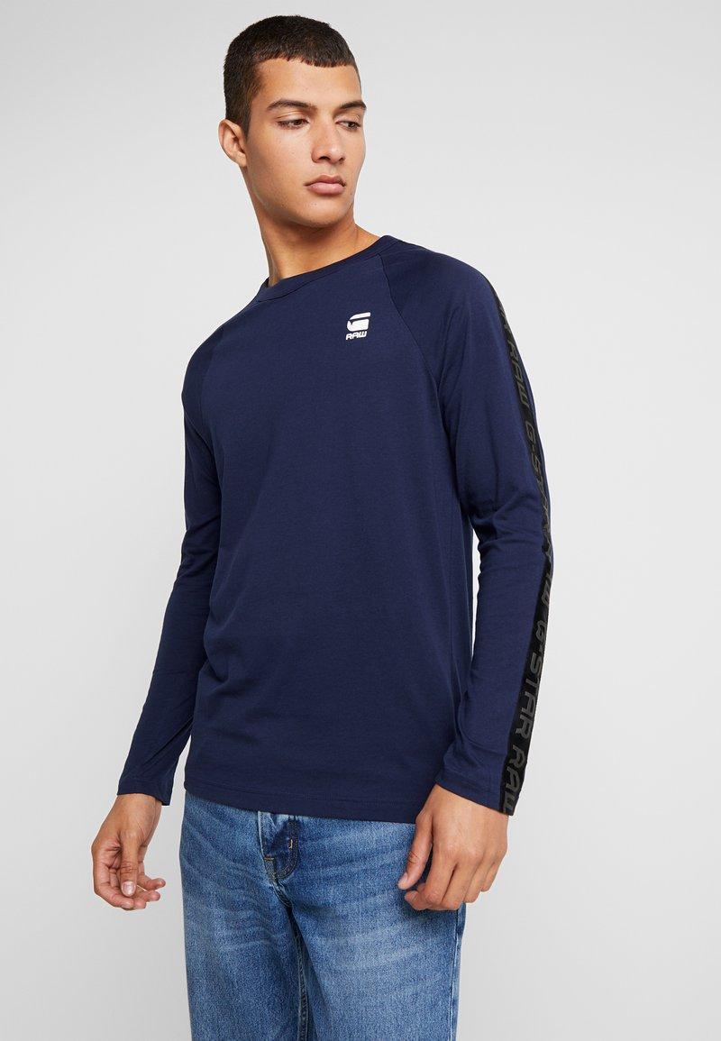 G-Star - SATUR RAGLAN R T L/S - Långärmad tröja - sartho blue