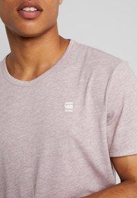 G-Star - BASE-S R T S/S - T-shirt basique - port red heather - 2