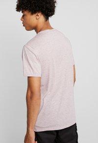 G-Star - BASE-S R T S/S - T-shirt basique - port red heather - 3