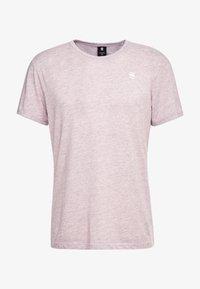 G-Star - BASE-S R T S/S - T-shirt basique - port red heather - 4