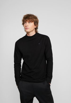 KORPAZ MOCK R T L/S - Long sleeved top - black