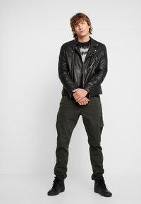 G-Star - GRAPHIC SLIM - T-shirt med print - black - 1