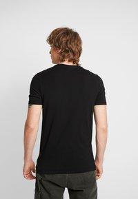 G-Star - GRAPHIC SLIM - T-shirt med print - black - 2