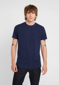 G-Star - PREMIUM R T S/S - Basic T-shirt - sartho blue - 0