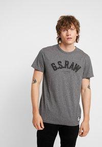 G-Star - GRAPHIC 12 R T S/S - T-shirts print - granite heather - 0