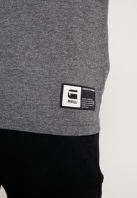G-Star - GRAPHIC 12 R T S/S - T-shirts print - granite heather - 5