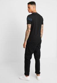 G-Star - GRAPHIC 13 SLIM R T S/S - T-shirt print - dk black - 2