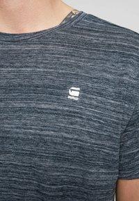 G-Star - STARKON LOOSE - T-shirt basique - legion blue - 5