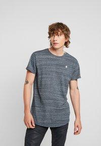 G-Star - STARKON LOOSE - T-shirt basique - legion blue - 0