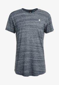 G-Star - STARKON LOOSE - T-shirt basique - legion blue - 4