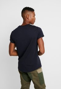 G-Star - SHELO RELAXED R T S/S - T-shirts med print - mazarine blue - 2