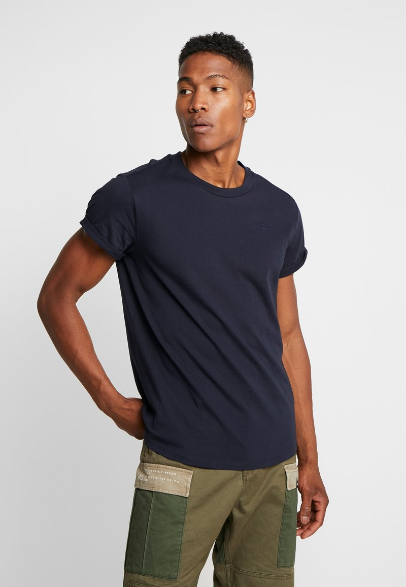 G-Star - SHELO RELAXED R T S/S - T-shirts med print - mazarine blue