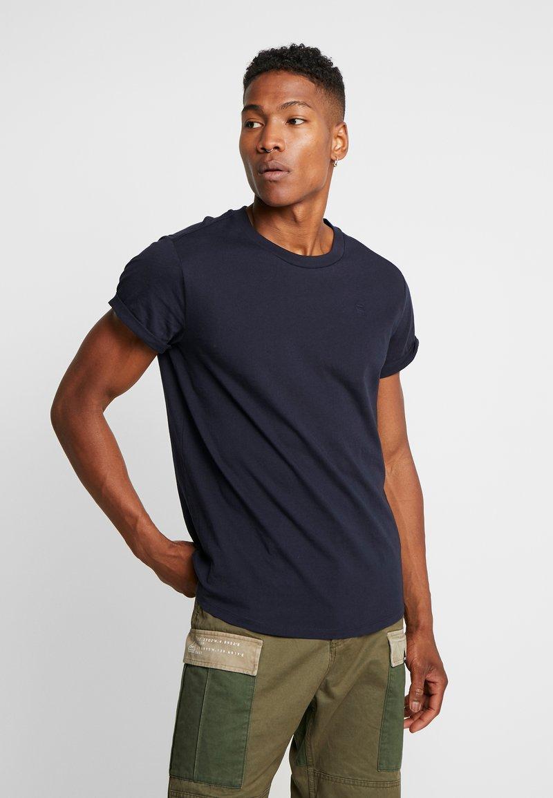 G-Star - SHELO RELAXED R T S/S - Print T-shirt - mazarine blue