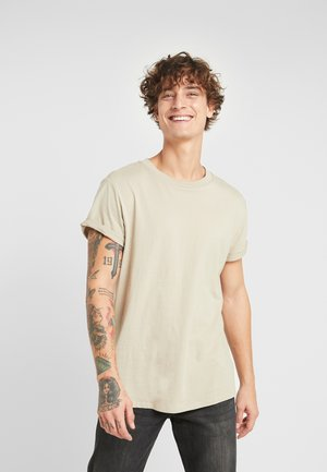SHELO RELAXED - Basic T-shirt - khaki