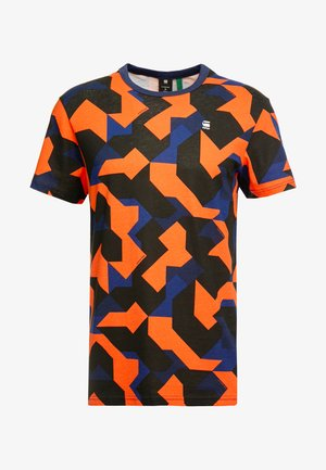 REGULAR R T S/S - T-shirt print - imperial blue