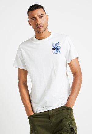 REGULAR - T-shirt print - white