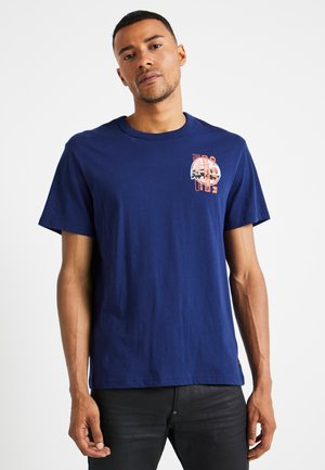 REGULAR - T-shirt print - imperial blue