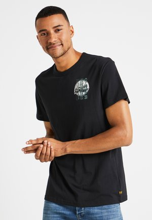 REGULAR - T-shirts med print - black