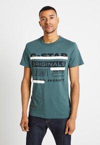 G-Star - REGULAR  - T-shirt med print - balsam - 0