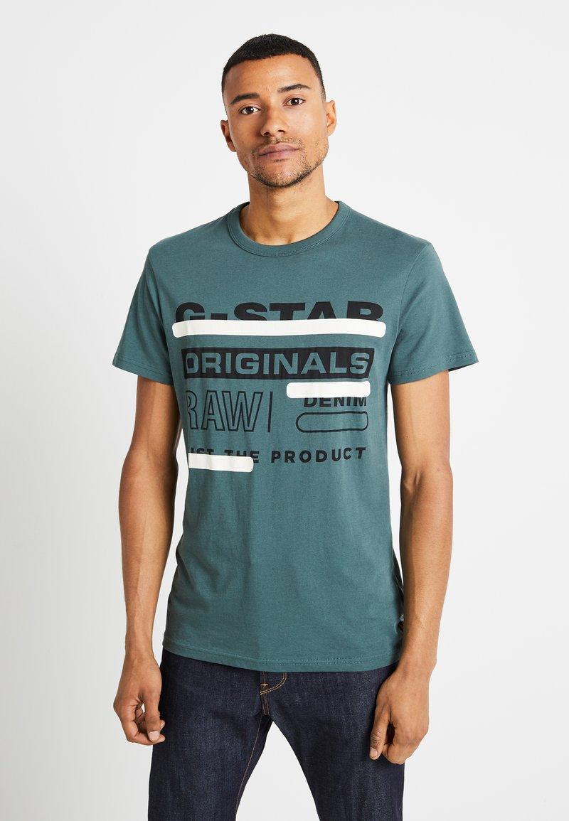 G-Star - REGULAR  - T-shirt med print - balsam