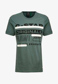 G-Star - REGULAR  - T-shirt med print - balsam - 3