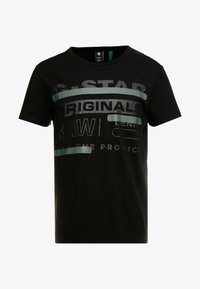 G-Star - REGULAR  - T-shirts print - black - 3