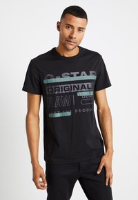 G-Star - REGULAR  - T-shirts print - black - 0