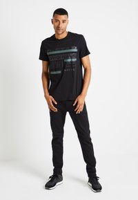 G-Star - REGULAR  - T-shirts print - black - 1