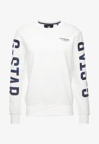 G-Star - CORE R-NECK T L/S - Sweatshirt - milk - 4