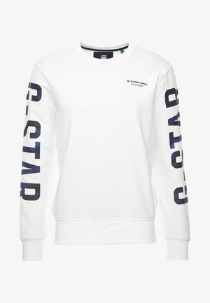 CORE R-NECK T L/S - Sweatshirt - milk