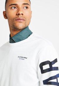 G-Star - CORE R-NECK T L/S - Sweatshirt - milk - 5
