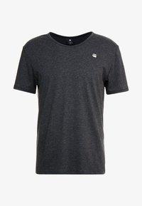 G-Star - BASE-S R T - Camiseta básica - dark black - 3