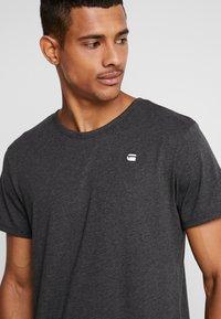 G-Star - BASE-S R T - Camiseta básica - dark black - 4