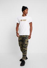 G-Star - RAW. R T S/S - Camiseta estampada - white - 1