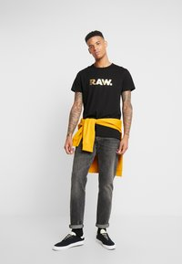 G-Star - RAW. R T S/S - T-shirt print - black - 1