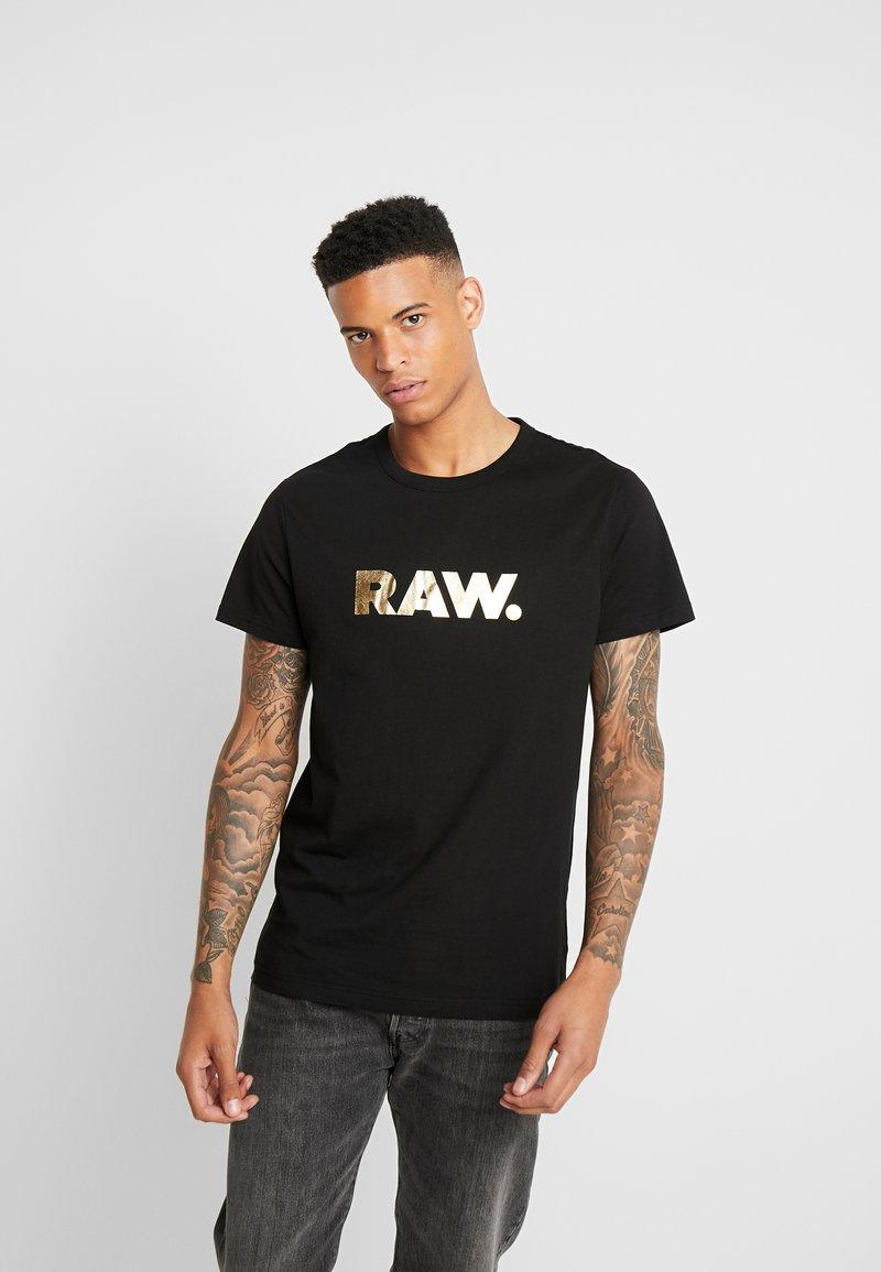 G-Star - RAW. R T S/S - T-shirt print - black