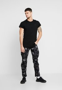 G-Star - SWANDO ART RELAXED - T-shirt print - black - 1