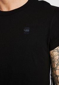 G-Star - SWANDO ART RELAXED - T-shirt print - black - 5