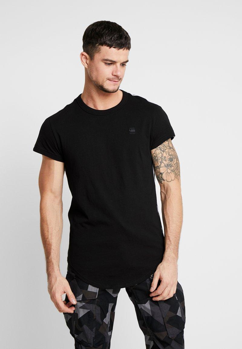G-Star - SWANDO ART RELAXED - T-shirt print - black