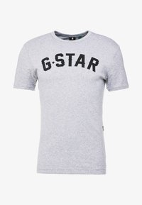 G-Star - GRAPHIC 16 R T S/S - Camiseta estampada - grey heather - 4